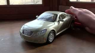 Review of 1/18 Lexus SC430 by Motormax