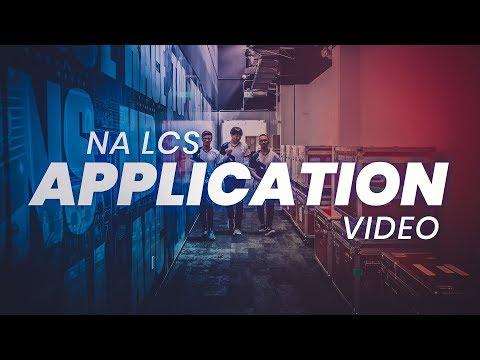 Team Liquid's NA LCS Riot Application Video