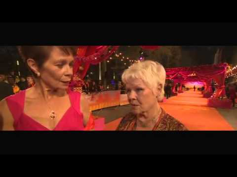 Dench and Imrie on Second Marigold Hotel film;Still Exotic