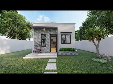 One bedroom small house design | tk.designs