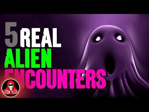 5 Disturbing REAL Alien Encounters