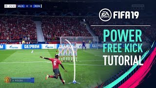 FIFA 19 | POWER FREE KICK TUTORIAL [PS4/XBOX ONE]