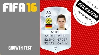 FIFA 16 | Julian Weigl | Growth Test
