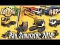 Lets Play: Bau Simulator 2014/ Construction Simulator #02 - Terrasse der Familie Reich