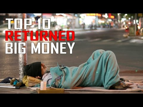 Top 10 People Who Found Big Money And Returned It
