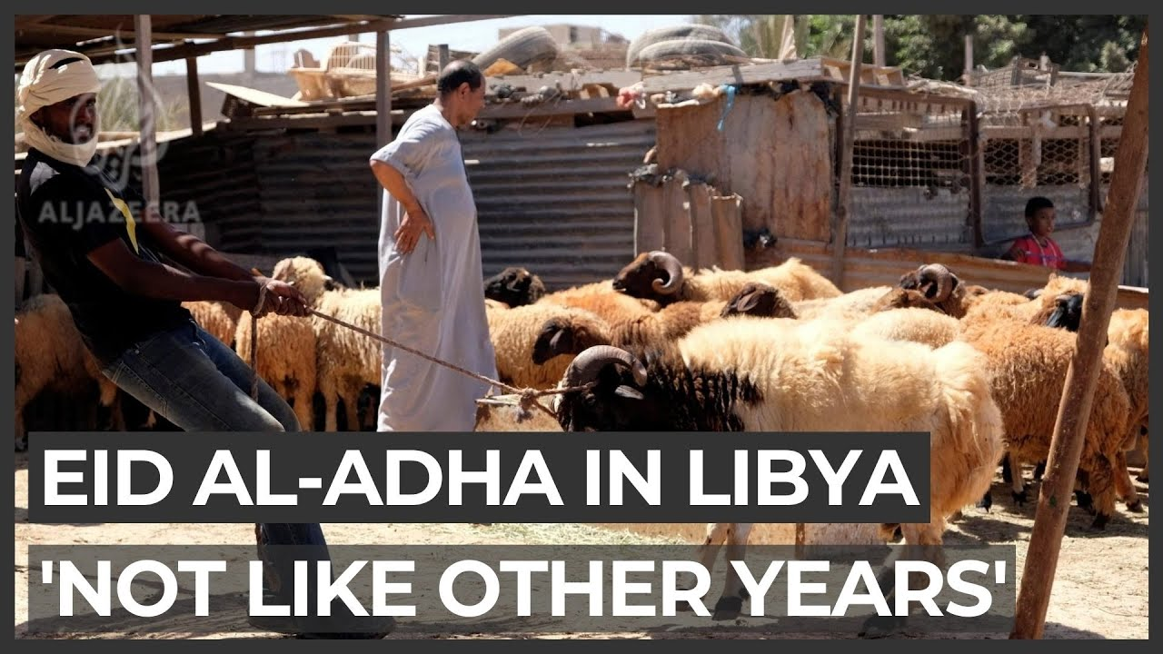 'Not like other years': Coronavirus dampens Eid al-Adha in Libya