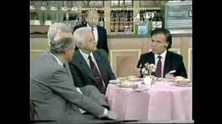 Menem, Tita Merello y Sofovich en Polémica en el Bar - Año 1990