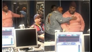 Fatboy SSE Almost Fights DJ Drama Cant Stand Him Bossing Him Around
