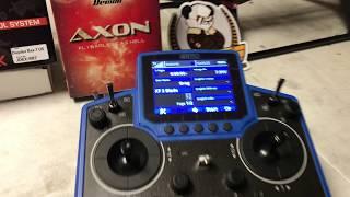 Quick Walk Thru Of The New Jeti DS-12 / Axon Integration