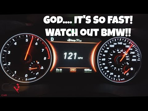 Genesis G70 3.3T AWD Acceleration Test | 0-60 Mph / 0-100 Km/h | Sit down, strap in!
