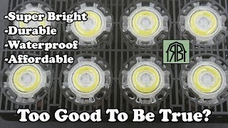 Sansi 50 watt LED floodlight review **Special offer in description**
