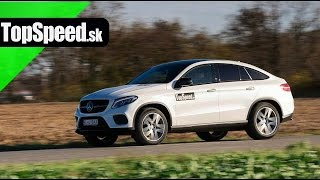 Test Mercedes GLE Coupe 350d TopSpeed.sk