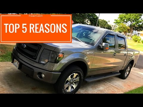Why Did I Buy a 2013 F-150 FX4?
