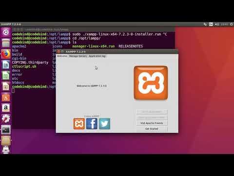 How To Install XAMPP On Ubuntu 16.04 / Ubuntu 18.04 (Linux)