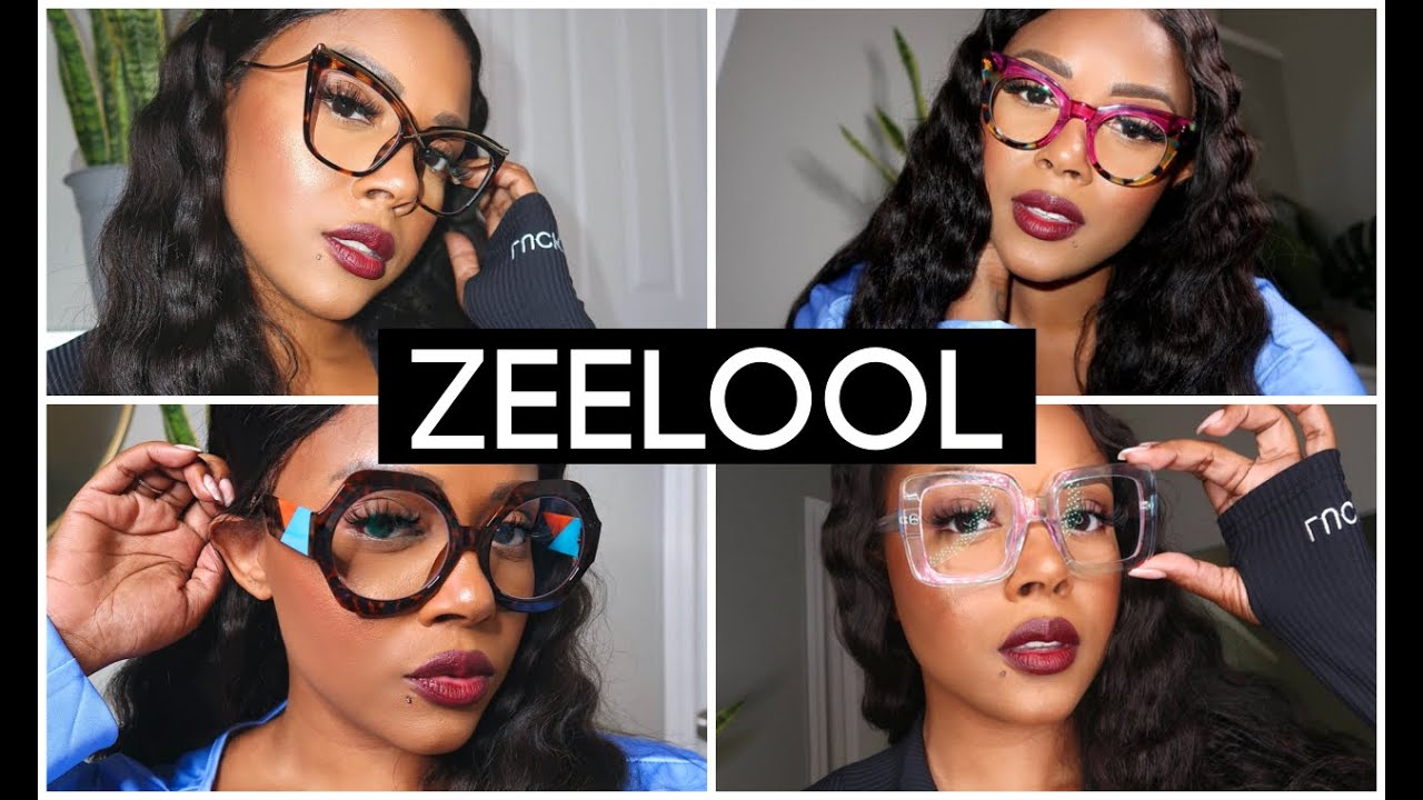 HUGE AFFORDABLE PRESCRIPTION GLASSES TRY ON HAUL FT. ZEELOOL | $7 GLASSES | CRYSTAL CHANEL