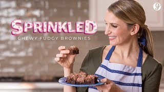 Homemade Chewy Fudgy Brownies Recipe