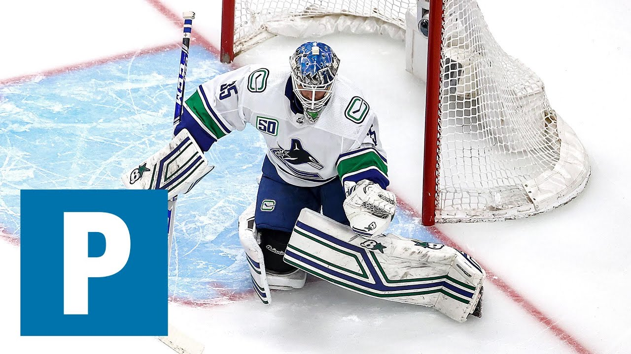 Canucks Post Game Demko A Creature Of Good Habits Hughes Handles Hype The Province