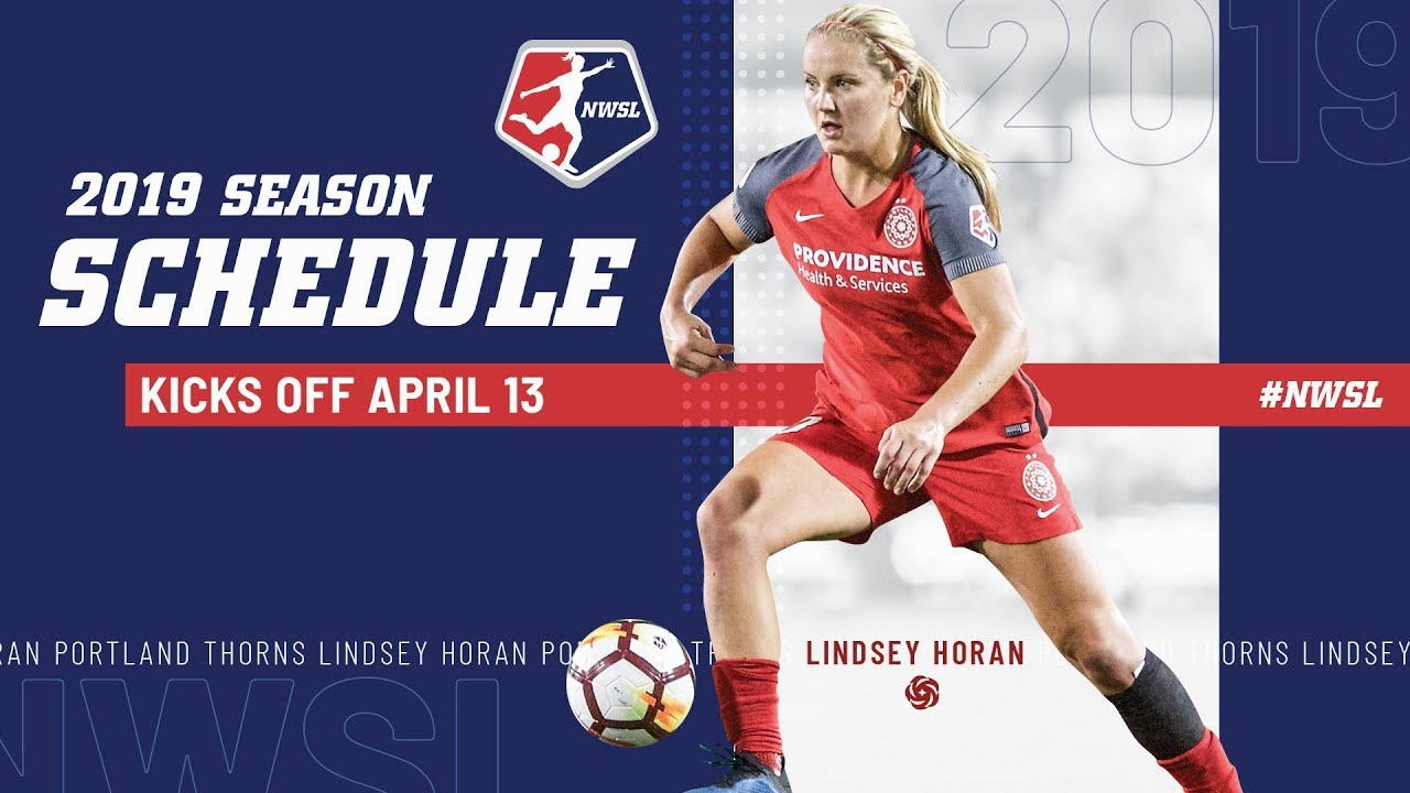 Nwsl 2019 Schedule We're Back | NWSL 2019   YouTube