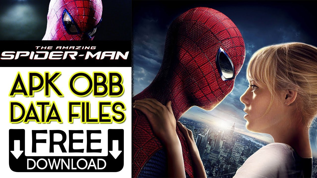 How To Download The Amazing Spider-Man Apk OBB Data For Android 2018  #Smartphone #Android