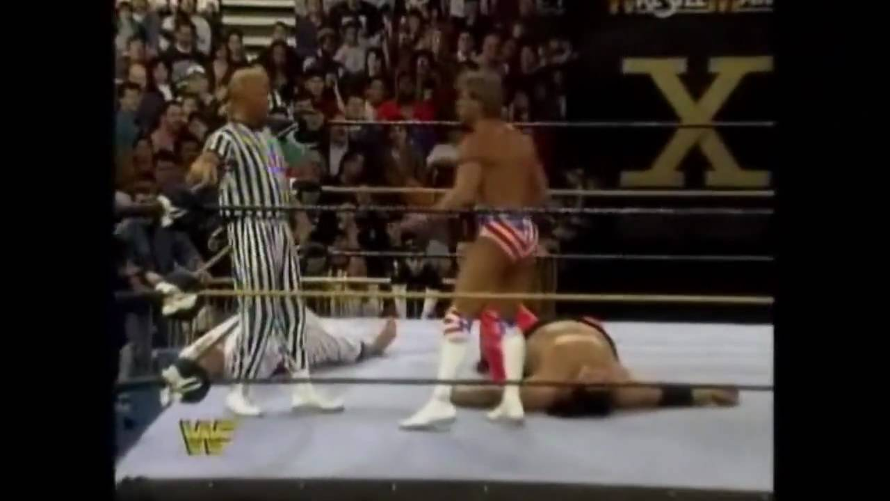 Download Lex Luger vs. Yokozuna WrestleMania X Finish