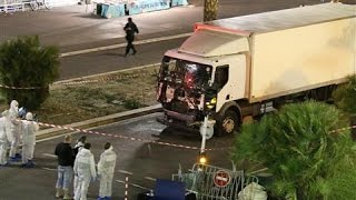 Video Footage of Truck Used in French Terror Attack