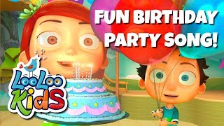 Скачать HAPPY BIRTHDAY Fun Birthday Party Song