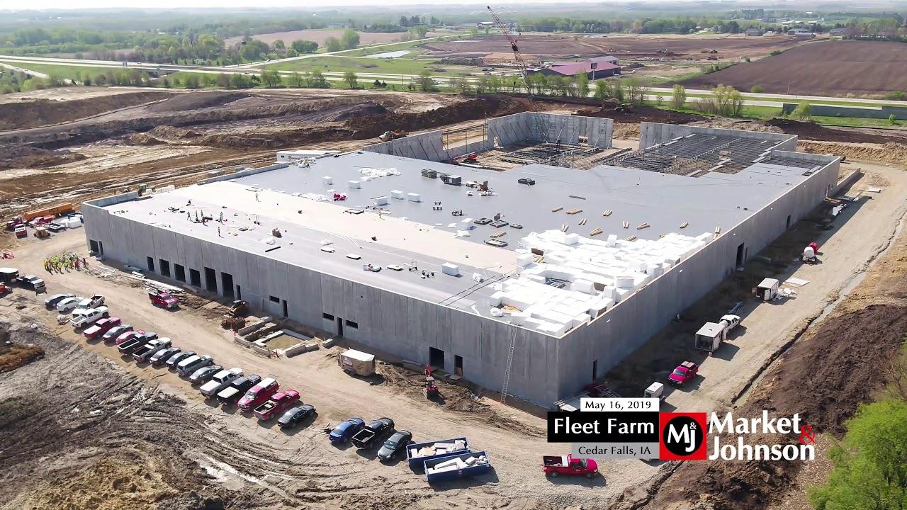 Fleet Farm (Cedar Falls, IA) Progress 5 16 19