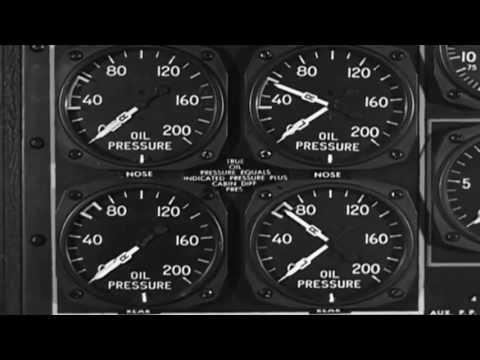 "AAF Training FIlm ""The B-29 Flight Engineer"" WW2 (full)"