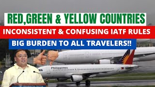 IATF UPDATES PHILIPPINE INT'L TRAVEL FOR OCTOBER 15-30 , A SUGGESTION OT THE IATF