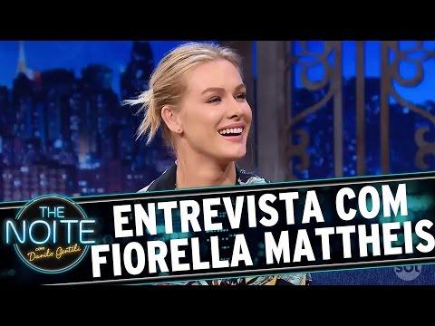 Entrevista com Fiorella Mattheis   The Noite (29/11/16)