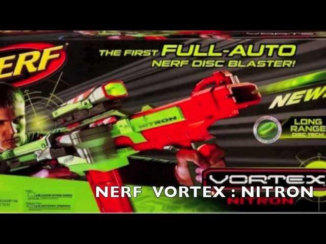 NERF : Vortex Series HD
