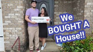 We BOUGHT A HOUSE!!! Empty House Tour | May 2020| Huge Secret