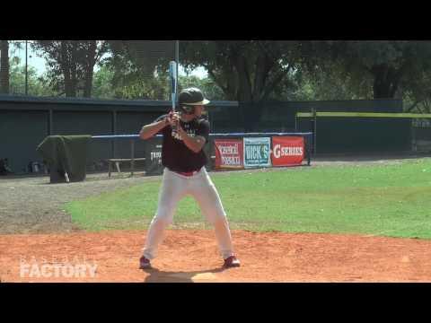 Jose Martinez Baseball Factory Tryout at Seminole State College April 2 2017