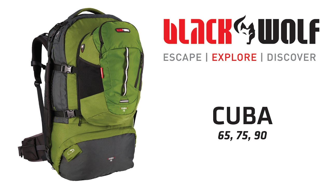 BlackWolf Cuba Travel Pack - YouTube 81f0642e84519