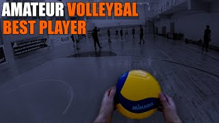 Amateur volleyball | POV | best player | Hinata