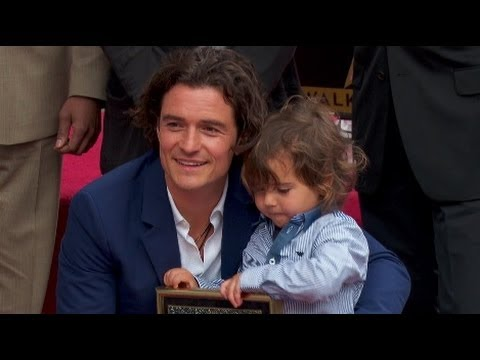 Orlando Bloom Flynn Walk Of Fame