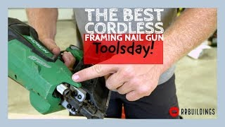 The Best Cordless Nail Gun: Toolsday