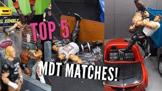 TOP 5 MDT MATCHES OF ALL-TIME! (WWE Pic Fed)