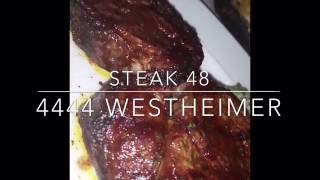 Steak 48 opens in Houston