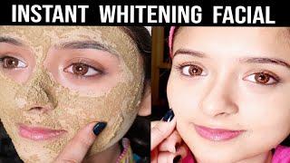 Instant Whitening(Vit.C) Facial at Home,(DIY) for this Wedding Season