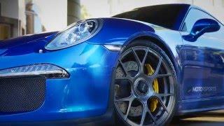 MOMO. HG Motorsports Porsche rolling on #MOMOforged