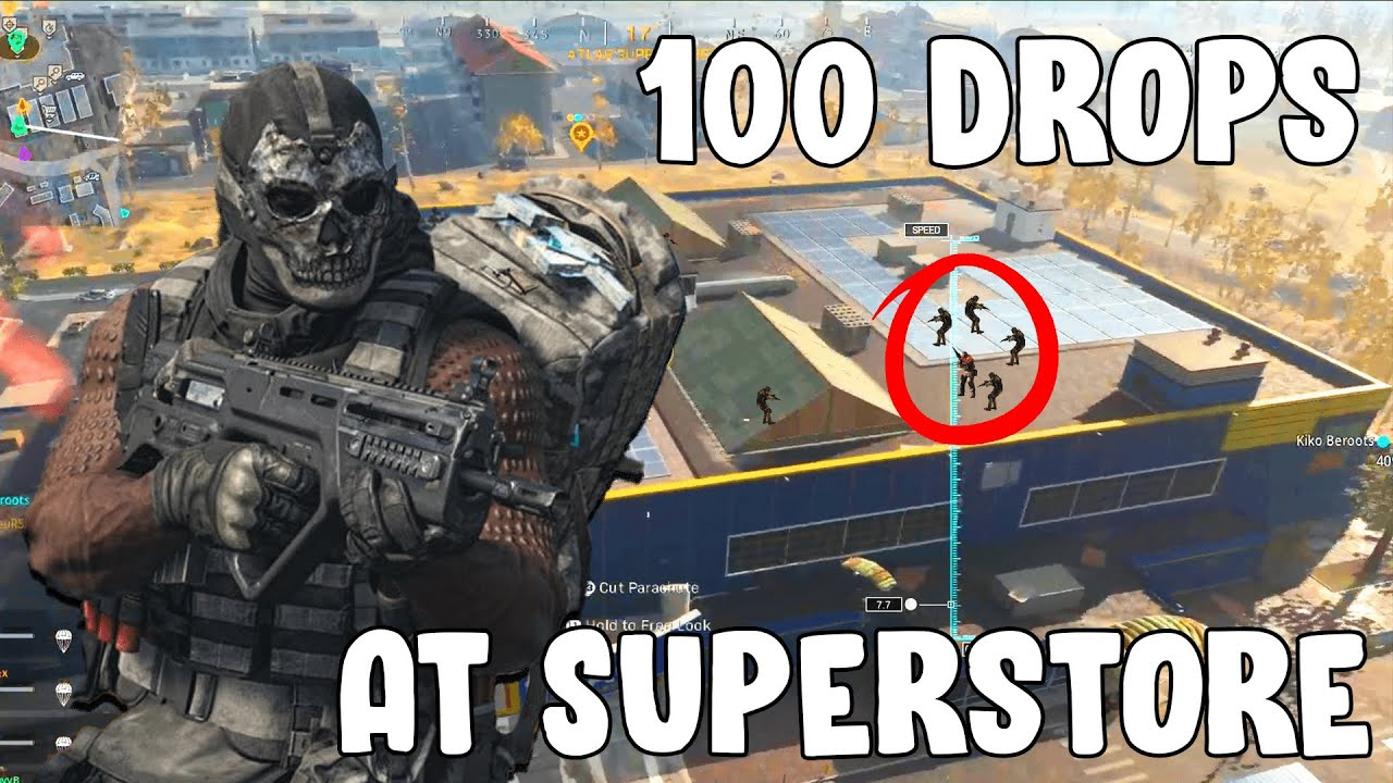 I dropped SUPERSTORE 50 times and THIS is what happened... (Call Of Duty Warzone)