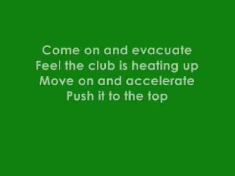 Cascada - Evacuate The Dancefloor (Radio Edit) Lyrics ...