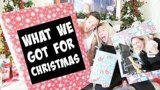 WHAT WE GOT FOR CHRISTMAS ( MOM & DAD EDITION )