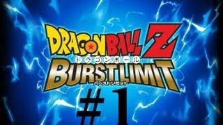 Dragon Ball Z Burst Limit - Walkthrough: Part 1