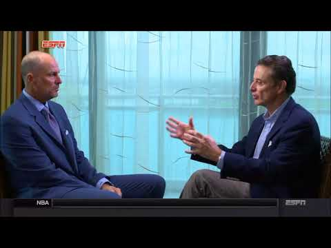 Rick Pitino Interview with Jay Bilas - Sportscenter (ESPN) - Full Interview (10/19/2017)