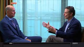 Rick Pitino Interview with Jay Bilas - Sportscenter (ESPN) - Full Interview (10/19/2017)