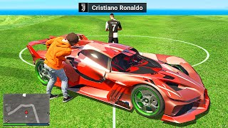 Stealing FOOTBALL PLAYERS SUPERCARS In GTA 5 RP!