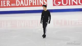 2017 Four Continents (DAY2) Nathan CHEN SP Run Through