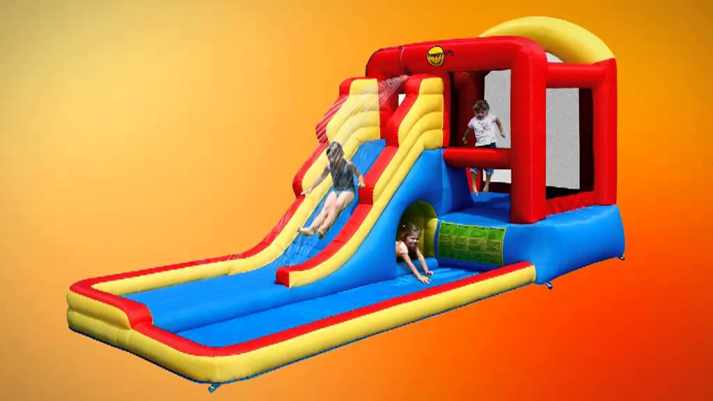 Tp005375346 happy hop jumping castles and water slides for for Happy hop inflatable water slide